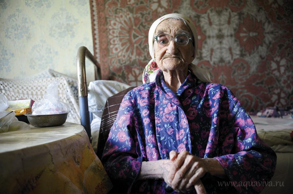 Марии Степановне Бариновой 91 год. Несмотря на возраст, все бабушки в доме сами за собой ухаживают и помогают друг другу