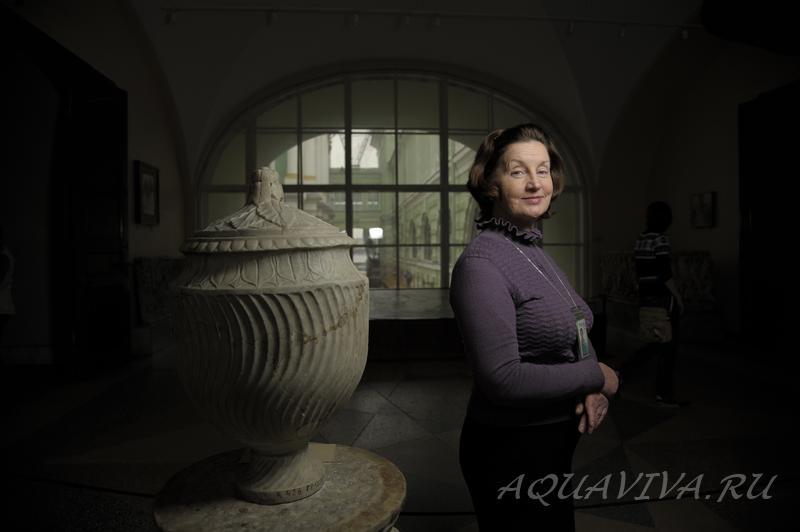 Надежда Васильевна Андреева любит, когда посетители обращаются к ней за советом