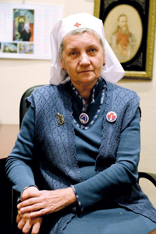 Ксения Феодосьевна Громакова, старшая сестра милосердия Красного креста