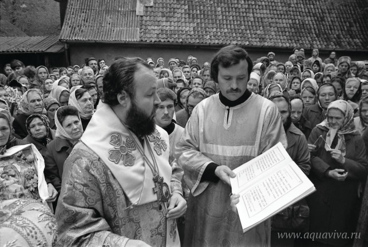 Освящение храма святителя Николая. Калининград. 1987 год