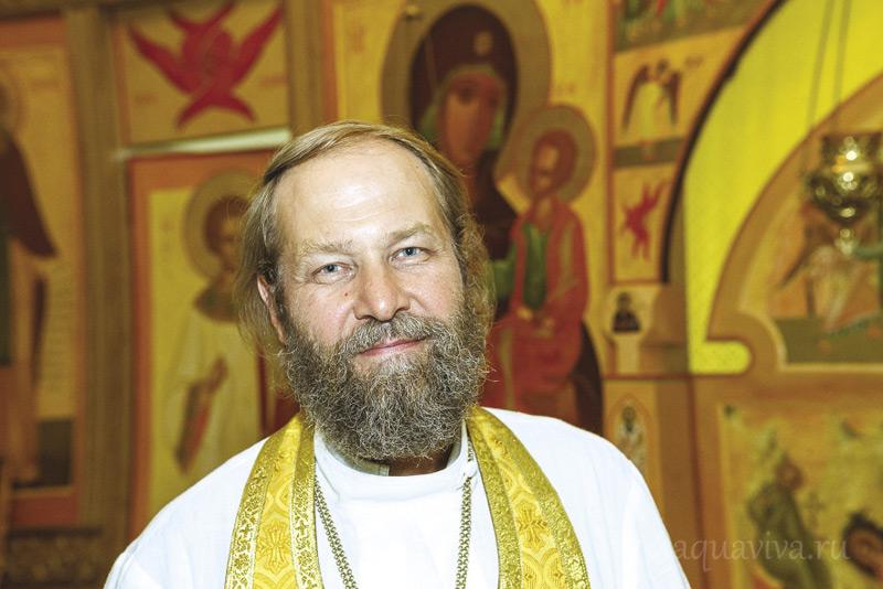Протоиерей Валерий Швецов, духовник Покровской богадельни