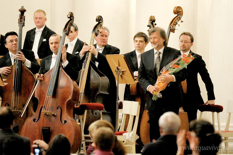 Авторский вечер Алексея Рыбникова в Большом зале Филармонии в рамках фестиваля «Академия православной музыки». 6 апреля 2014 года