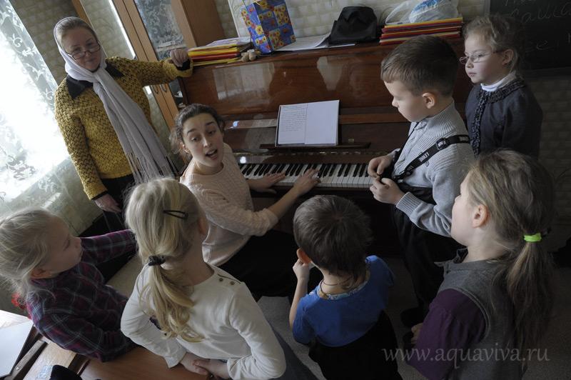 Татьяна Залетова, старший преподаватель воскресной школы, трепетно относится к успехам учеников