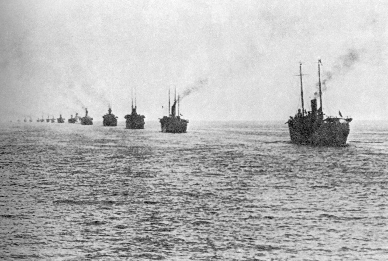 Эвакуация Русской армии из Крыма. Ноябрь 1920 года
