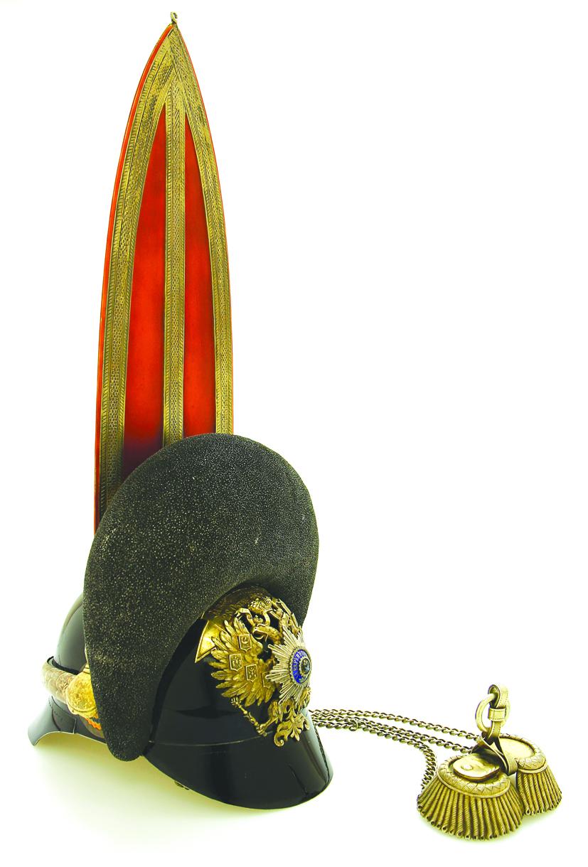 Лампада фирмы Фаберже, подаренная Великим князем Дмитрием Константиновичем Валаамскому монастырю (в виде его шлема). Фото Хенна Хиетайнен