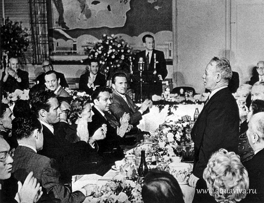 Вручение премии М.А. Шолохову (1965)