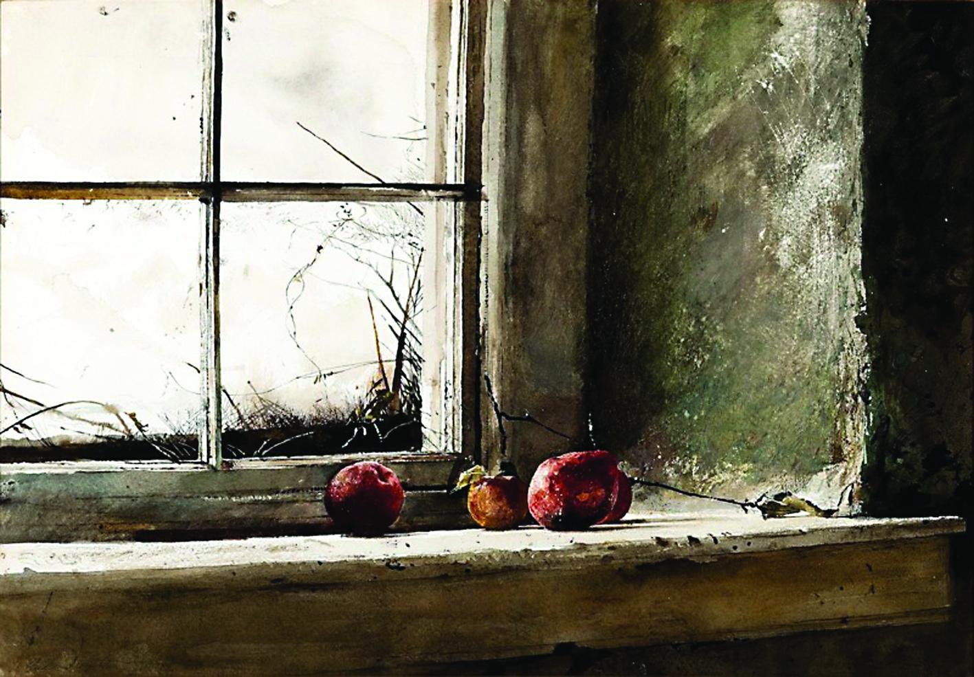 Эндрю Уайет. Подмороженные яблоки. 1962 год