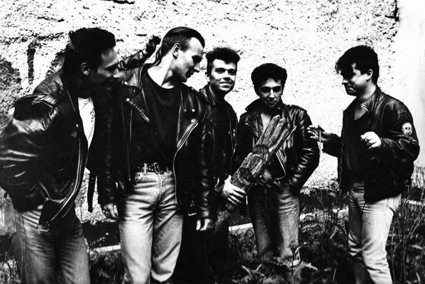 Во времена выступлений в легендарном Ленинградском рок-клубе