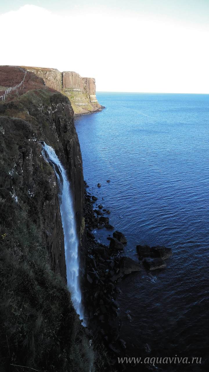Водопад Килт Рок, остров Скай