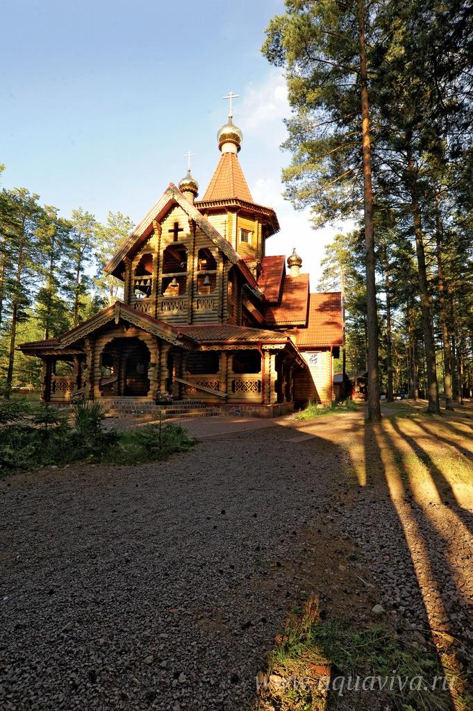 История лагеря «Ратоборец» началась 10 лет назад, вместе со строительством храма Рождества Иоанна Предтечи