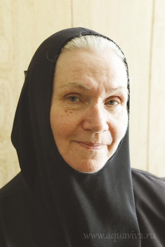 Инокиня Нина (Романова), управляющая богадельней
