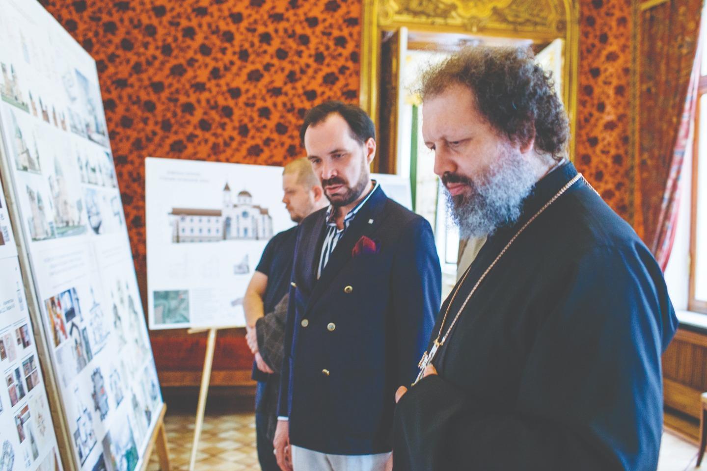 Кирилл Яковлев и архимандрит Александр (Федоров)