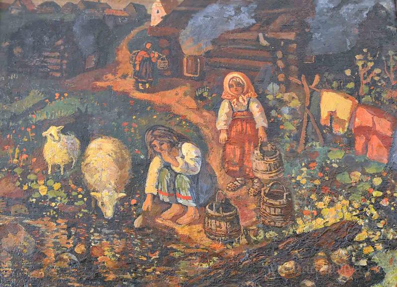 Е. В. Ченстняков Топят бани