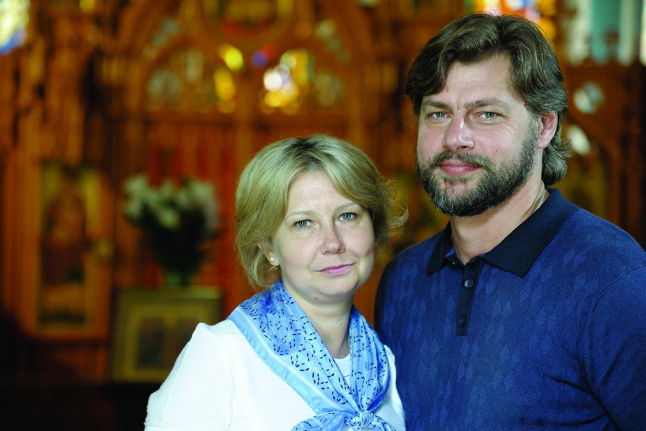 Супруги Алексей и Александр пронины, певчие хора