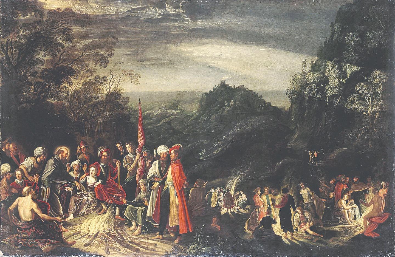 Давид Тенирс Старший. Чудо апостола Павла на острове Мальта. 1620 год