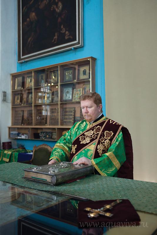 Диакон Вячеслав Михалин