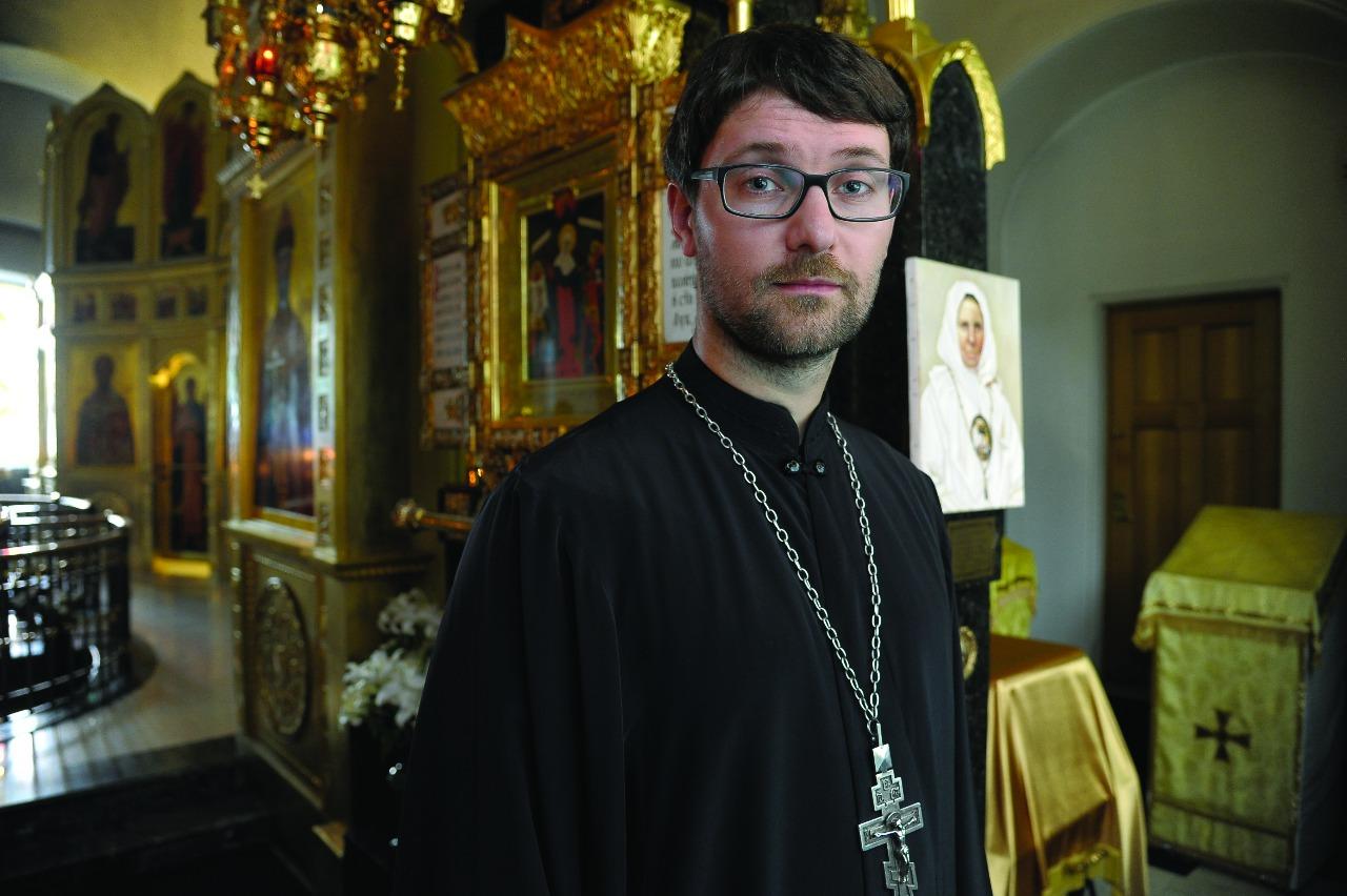 Настоятель Скорбященской церкви иерей Богдан Полевой выступает за канонизацию Матроны Мыльниковой