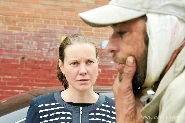 Наталья — врач, её приезда бездомные особенно ждут
