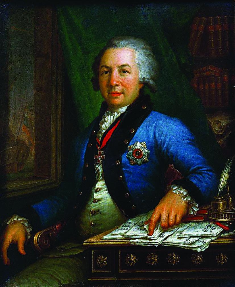 В. Боровиковский. Портрет Г. Р. Державина. 1795 год