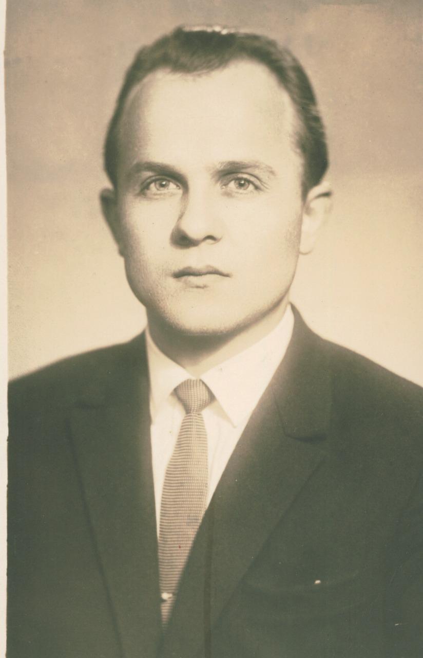 Студент ЛДА. 1964 год