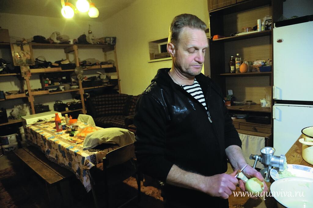 Дмитрий, местный старожил, — главный повар реабилитационного центра