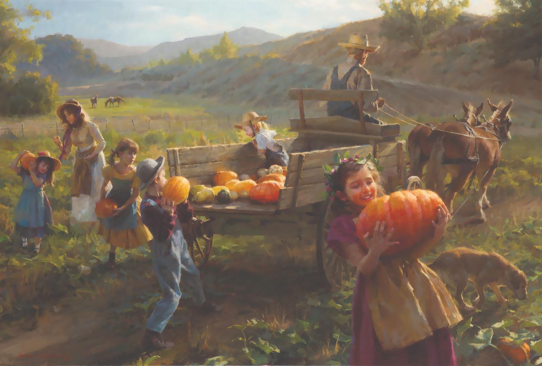 Морган Вейстлинг. Конец сбора урожая. 2012 год