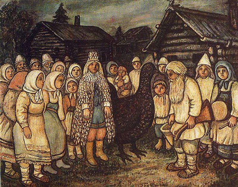 Е. В. Честняков Тетеревиный король