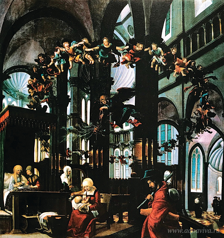 Альбрехт Альтдорфер. Рождество Богородицы. 1520 год