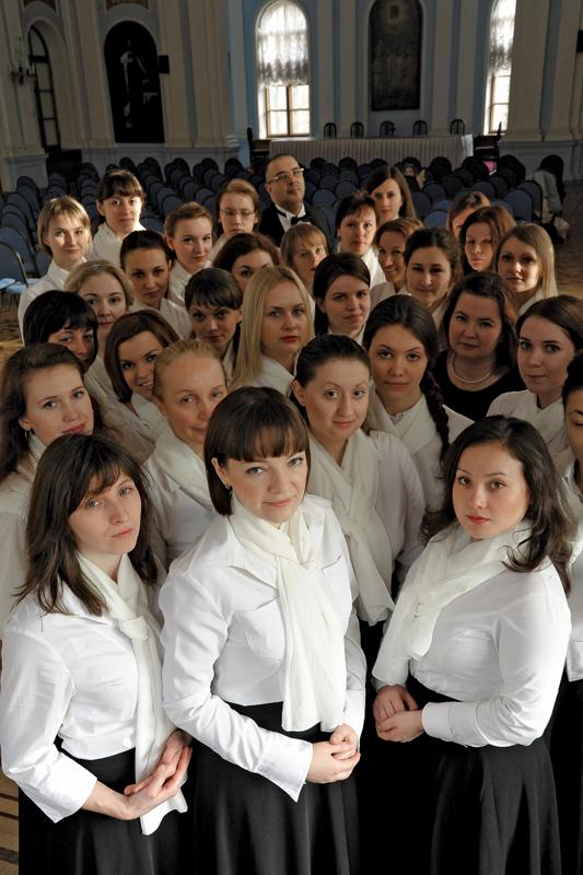 Женский хор митрополии под управлением Игоря Матюкова