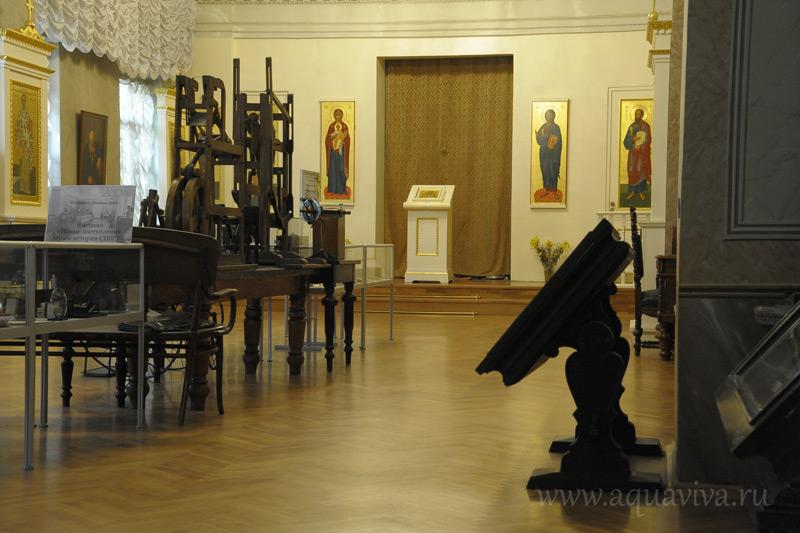 Храм святых апостолов Петра и Павла при Санкт-Петербургском государственном университете