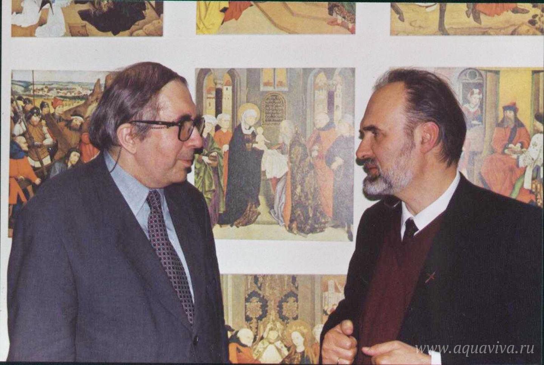 Встреча с известным филологом и библеистом Сергеем Аверинцевым