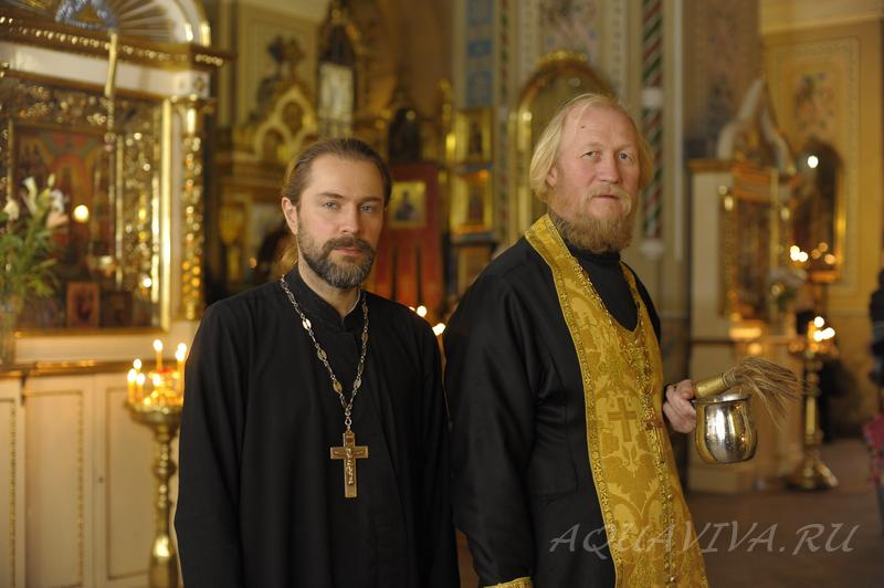 Протоиереи Ярослав Родионов и Сергий Ашиток