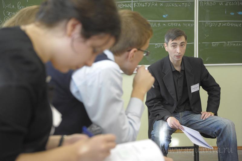 Александр Розмыслов, председатель Ассоциации православных молодежных общин Санкт-Петербурга