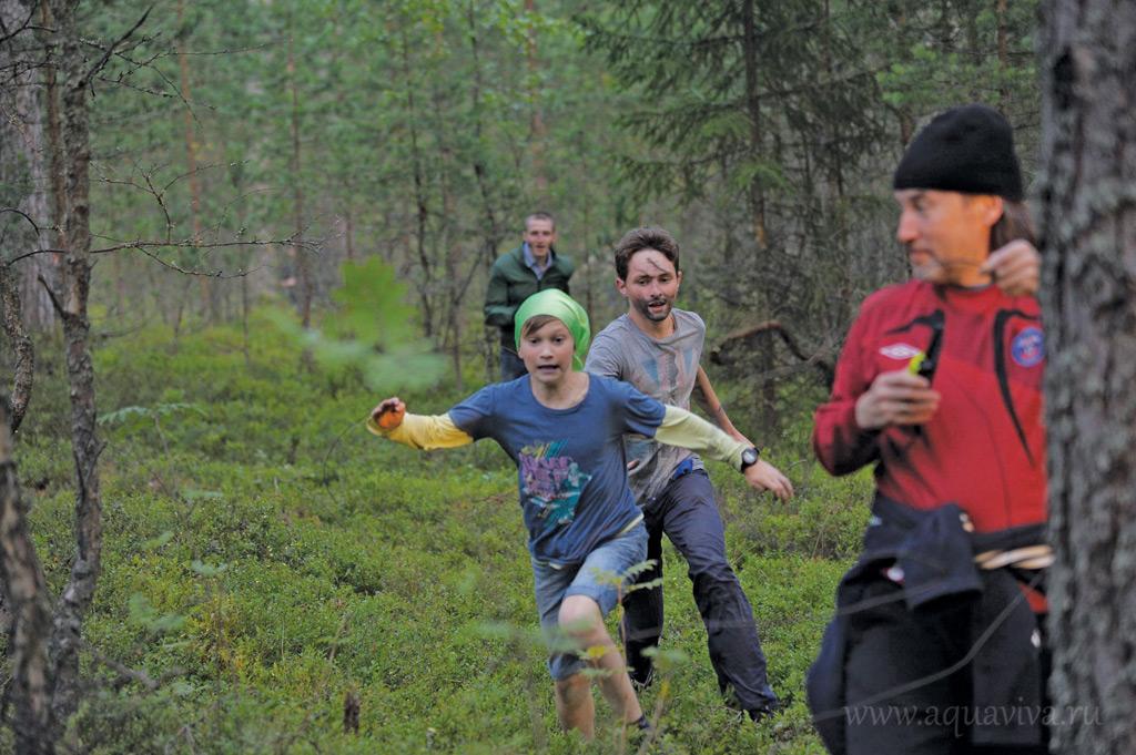 Суровый северный лес — отличная тренировочная площадка