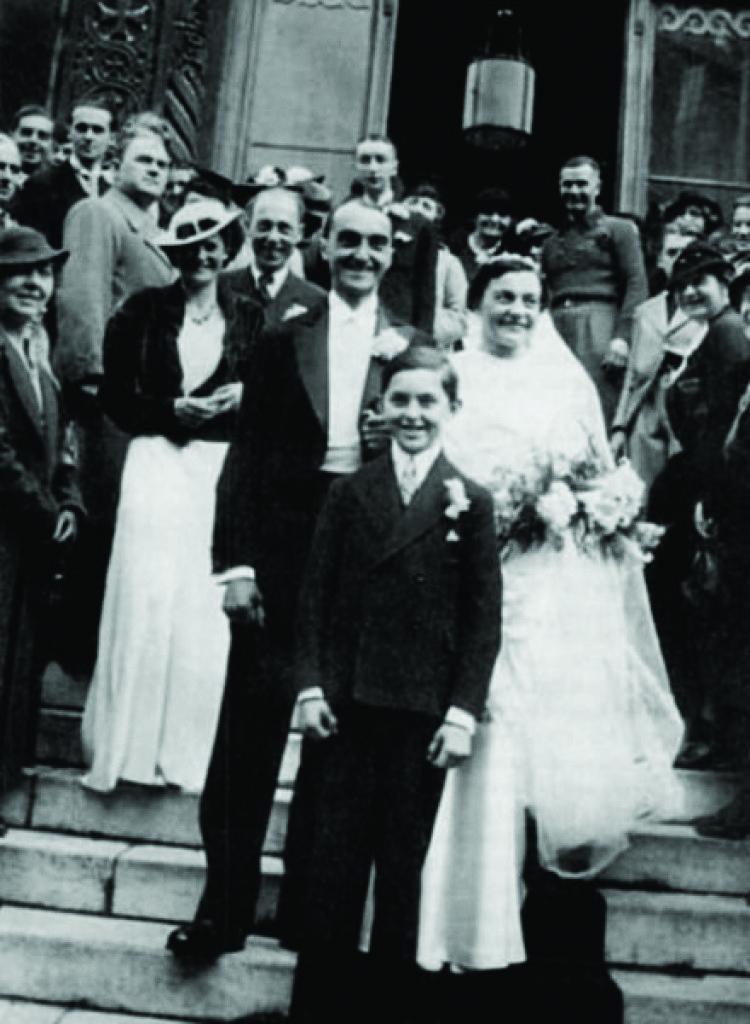 Венчание Николая и Веры Оболенских. 1937 год