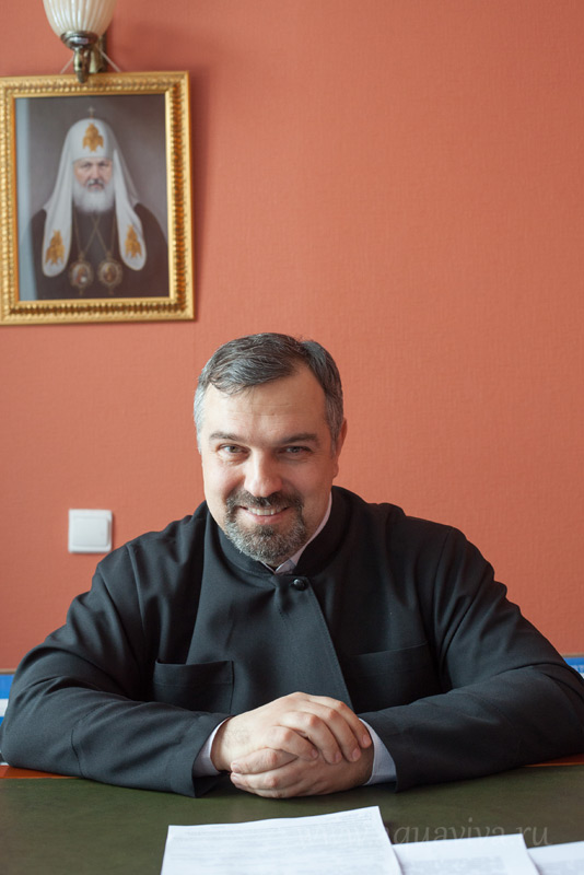Александр Семенов, председатель БФ «Православная реабилитация»