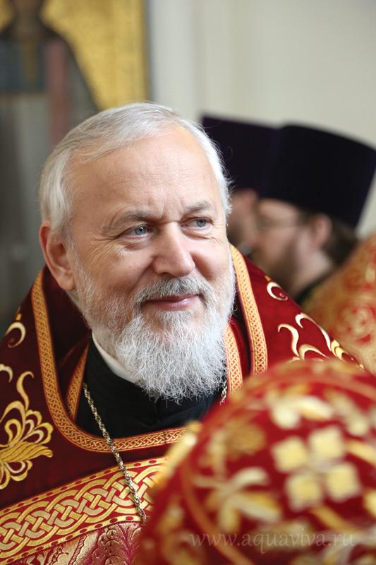 Протоиерей Геннадий Бартов, настоятель собора