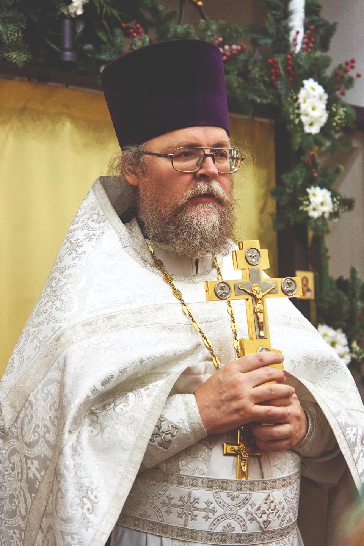 Протоиерей Андрей Мекрюков, настоятель Серафимовского прихода
