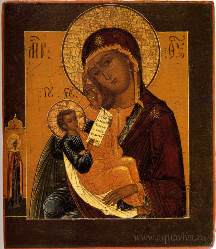 """Икона Божией Матери """"Утоли моя печали"""". XIX век."""