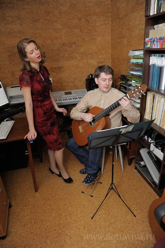 Семья Голубковых: Александр и Виктория