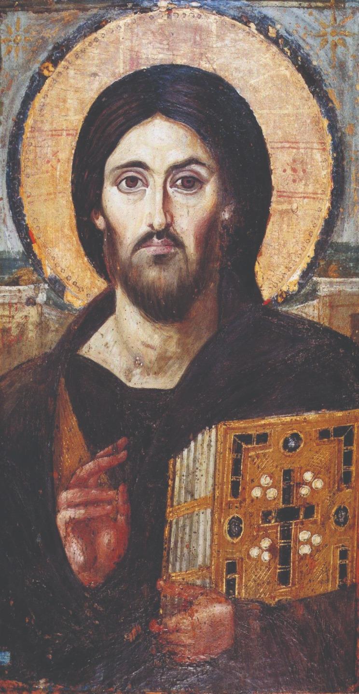 Христос Вседержитель. Монастырь святой Екатерины. Синай. VI век