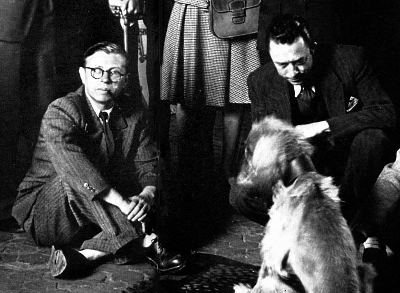 Жан-Поль Сартр и Альбер Камю. 1940-е годы