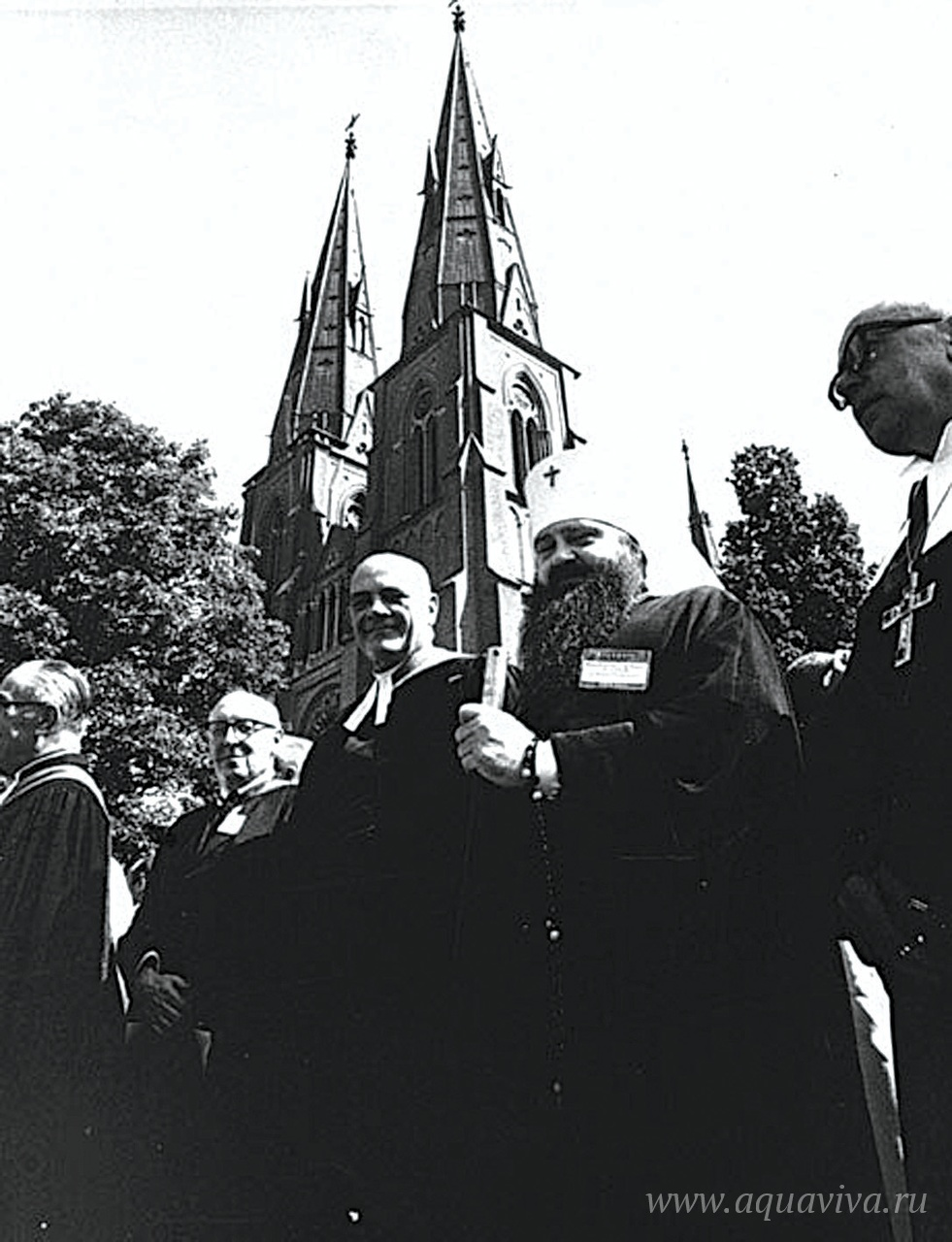 На IV Ассамблее ВСЦ. Уппсала. 1968 ГОД
