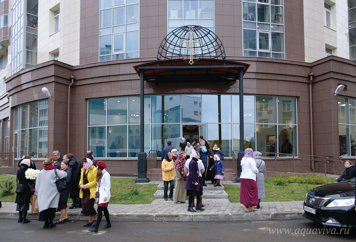 Храм священномученика Петра Скипетрова в жилом комплексе «Город мастеров»