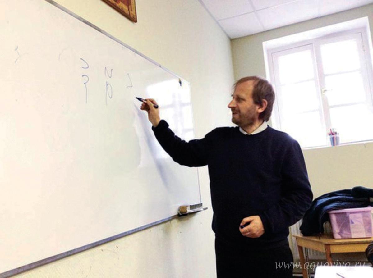 Кирилл Битнер, преподаватель древнееврейского, рассказывает, что некоторые его ученики открывают в себе поразительные филологические способности