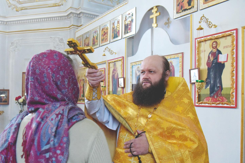 Настоятель прихода иерей Алексий Рагин