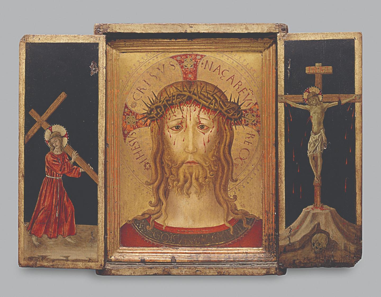 Бенедетто Бонфильи. Христос в терновом венце. 1455–1460 годы