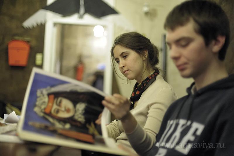 Дарья Чудновская, как и многие волонтеры, поддерживает связь с воспитанниками и после их выпуска