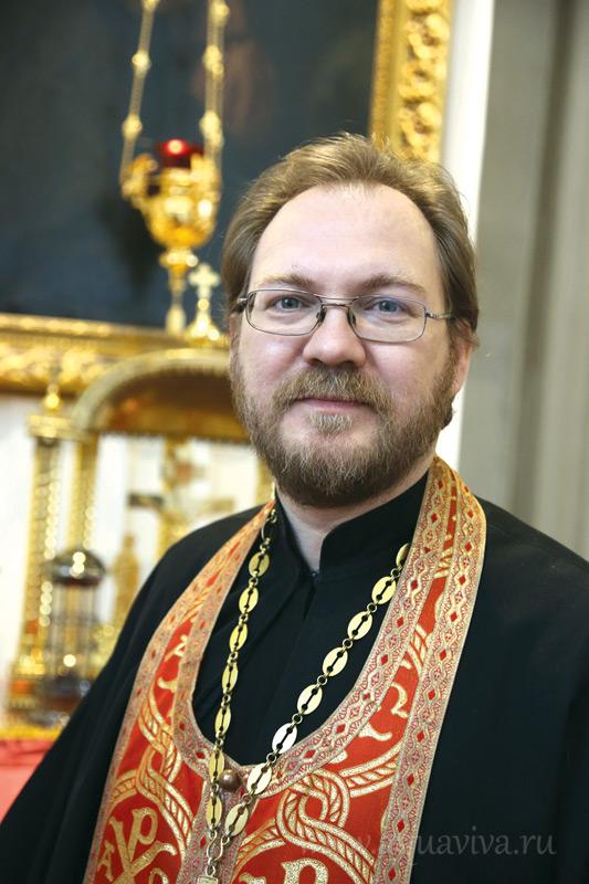 Протоиерей Константин Пархоменко, руководитель воскресной школы