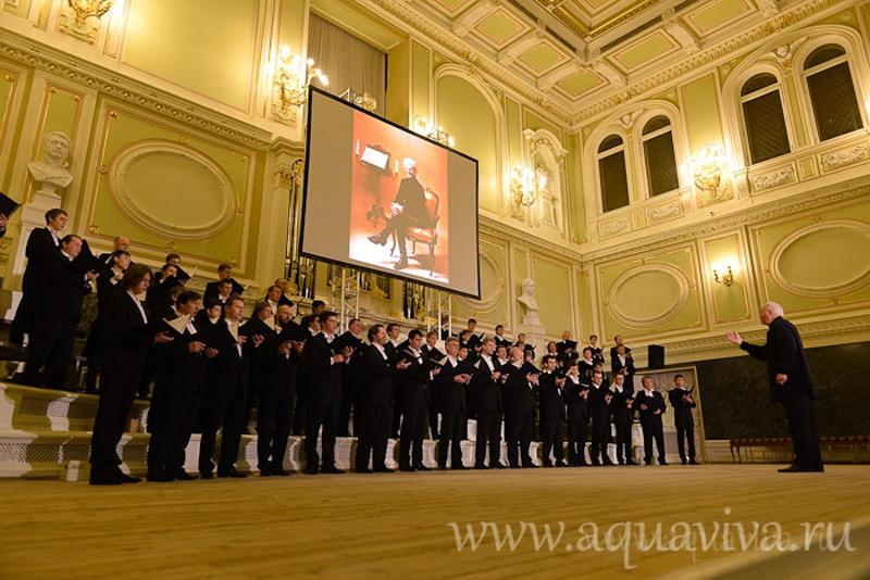 На концерте в честь хора Сергея Жарова, организованном в капелле по инициативе протоиерея Андрея Дьяконова